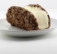 Cocoa Pebbles Ice Cream Taco - Delish.com