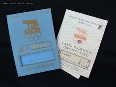 1960 Rome Olympics walking Judge Passport  id