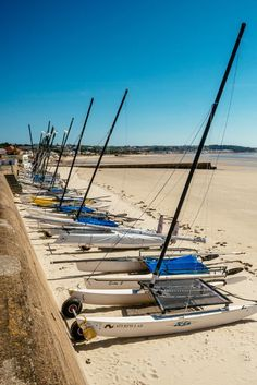 Beautiful white sands in Jersey, Channel Islands #EscapeToJersey