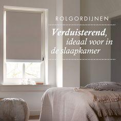 Verduister de slaapkamer met rolgordijnen! #zwart #rolgordijn ...