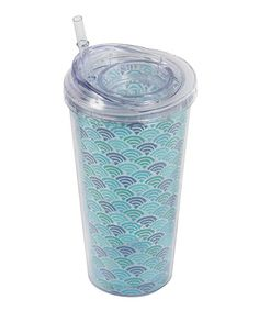 Another great find on #zulily! Seashell 20-Oz. Insulated Tumbler #zulilyfinds