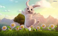 easter bunny - Free Large Images