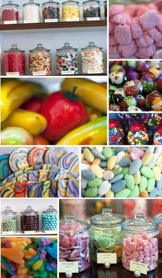 the candy store in San Francisco #candy #colorful