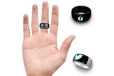 #MOTA SmartRing Lets You Read Messages on Your Finger.