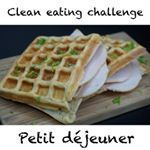 Recette de gaufres healthy fourrées au jambon !Mes ebooks de recettes aussi bonnes pour la ligne que pour le moral : www.emmafitnessgoal.com