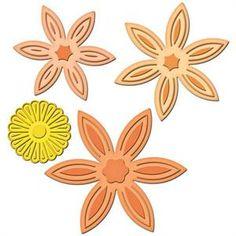Spellbinders Shapeabilties Daisy Flower Topper S5-061