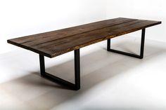 Rustika Spisebord oak black oil 110x260cm - Rustika oak black oil