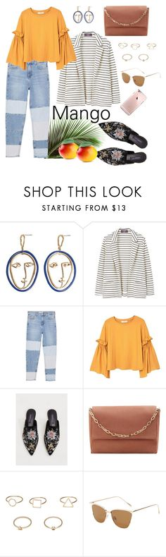 """""""All Mango Everything"""" by ellleonora ❤ liked on Polyvore featuring MANGO and Violeta by Mango"""