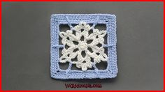 Frosty Flakes square...free pattern!