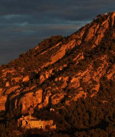 Horta de Sant Joan #Village  #landscape #sunset  @viatgecatalunya