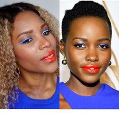 Celebrity Inspired ] Lupita Nyong'o Makeup Tutorial Video