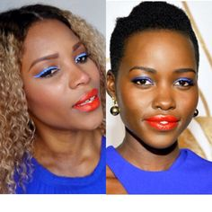 Celebrity Inspired ] Lupita Nyong'o Makeup Tutorial Video