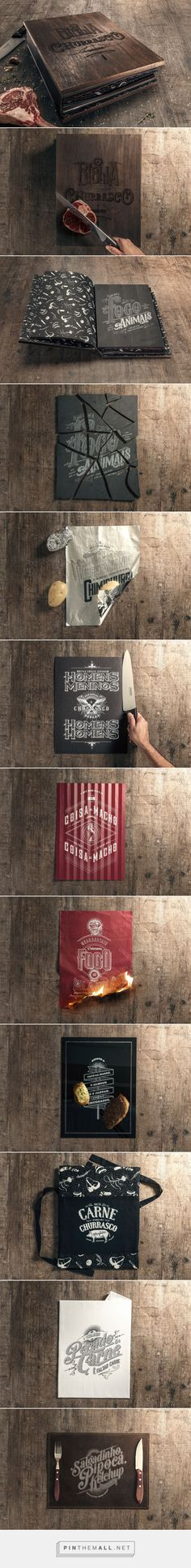 The Bible of Barbecue on Behance - created via https://pinthemall.net
