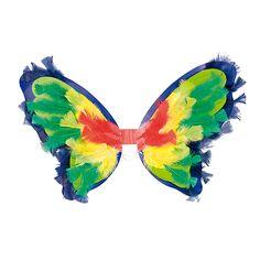 Piękne skrzydła motyla do dekorowania DIY  http://www.mojebambino.pl/akcesoria-do-tworzenia-strojow-upominkow-dekoracji-sal/1195-skrzydla-motyla.html