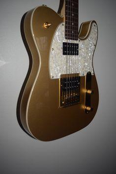Fender Telecaster Artist J5 Squire Double Bound w Fender Pearloid Pickguard