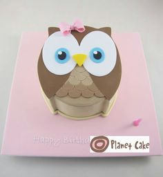 Owl Cake ♡
