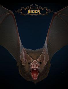 Bat - Halloween October 2015 Portfolio Covers, Wine Art, Halloween Bats, All Art, Cover Art, October, Artist, Artwork, Work Of Art