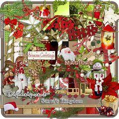 Printable Scrapbooking Megakit Santa`s Kingdom (PU/S4H) by Digidesignresort