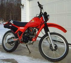 The 11th bike I owned and also the very first new one I ever had. It was a 16th Birthday gift from my mother.1983 Honda XL 200