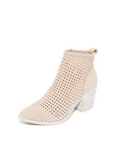 dolce vita perforate booties