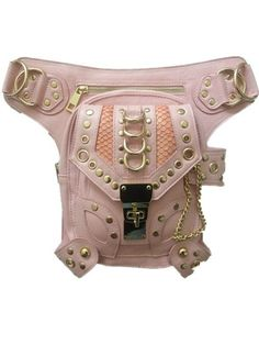 59.00$ Buy now - http://alip4o.worldwells.pw/go.php?t=32787932593 - Steampunk Rose Quartz Motor leg bag Outlaw Pack Thigh Holster steam punk Purse Shoulder Holster Backpack Purse leather thigh bag