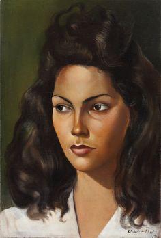Leonor Fini, self portrait