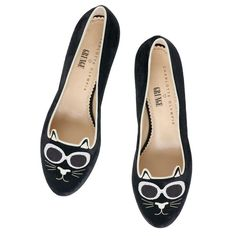 GRUNGE KITTY|SLIPPER|Charlotte Olympia SHOES