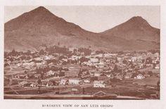 """BIRDSEYE VIEW OF SAN LUIS OBISPO"" Arroyo Grande, Morro Bay, Central Coast, San Luis Obispo, Monument Valley, Growing Up, Scenery, California, Memories"