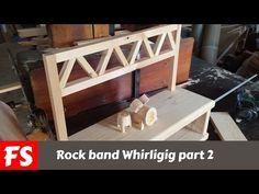 Make a Rock band whirligig (Part 2) - YouTube