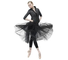 Rehearsal skirt Black by Repetto