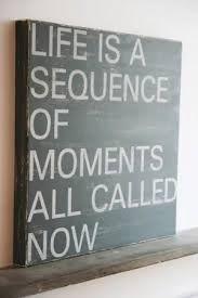 Non c'è un altro momento presente