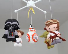 Bebé cuna Mobile  Mobile Star Wars  vivero Star Wars móviles