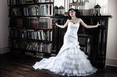 Studio Lighting, Home Studio, Mermaid Wedding, One Shoulder Wedding Dress, Wedding Dresses, Model, Fashion, House Studio, Bride Dresses