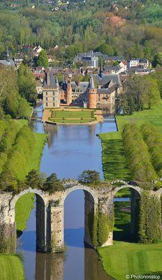 Chateau de Maintenon, Eure-et-Loir departement, France