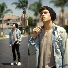 Martens Doc Martens styled by Adam Gallagher in Doc martens Doc Martens Outfit, Teen Boy Fashion, Mens Fashion, Fashion Outfits, Fashion Styles, Hipster Fashion, Boys In Beanies, Adam Gallagher, Skinny Love