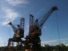 Crane, Battersea Power Station