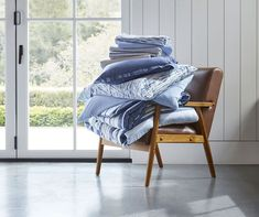 Your First Look At Gap's Home Collection—& Our 7 Faves Gap Style, Solid And Striped, Black Chalkboard, Porcelain Dinnerware, Boho Bedding, Open Window, Vanity Bench, Home Collections, Neutral Colors