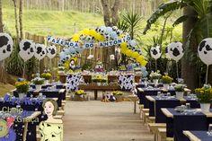 Farm Party- The Cute Moo moo Balloons