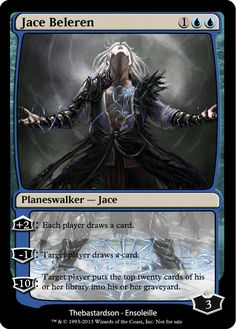 Magic the Gathering - Jace Beleren by ASliceOfUnagi on DeviantArt