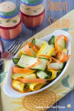 Ribbon Salad | Cooking on the Front Burner #salad