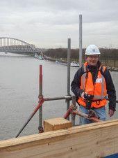 brug over Amsterdam - Rijnkanaal december 2014