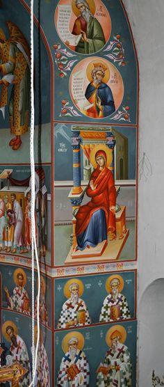 Saint Anthony Church, Byzantine Art, Nashville Tennessee, Athens Greece, Altar, Fresco, Saints, Creative, Artist