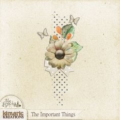kimeric kreations: A pretty little The Important Things cluster from Chrissy…