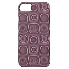 Trendy and pretty iPhone 5 case. Beautiful psychedelic violet lavender purple circles and round squares pattern. A geometric abstract design for the hip trend setter, 3D, graphic digital modern motif designer, or vintage retro nouveau art deco lover. Cute and fun gift for mom's or dad's birthday, Mother's or Father's day, or Christmas holiday stocking stuffer. Classy and chic phone cover. Also for iPod 4G 5G, iPhone 3 4 5C, Samsung Galaxy S2 S3 S4, Droid Razr, iPad and more.