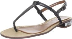 Boutique 9 Womens Bluestreak SandalBlack Synthetic Patent8 M US *** Read more reviews of the product by visiting the link on the image.
