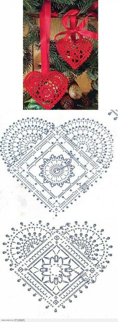 Crochet Patterns Gifts Christmas - Christmas balls - Urszula Niziołek - Picasa We . Crochet Diagram, Crochet Chart, Thread Crochet, Filet Crochet, Crochet Motif, Crochet Stitches, Crochet Patterns, Knitting Patterns, Crochet Christmas Decorations