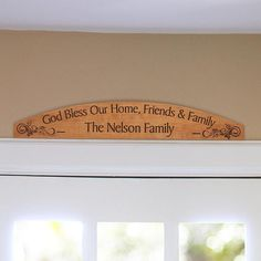 Bless This Home Plaque - easy!