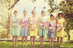 Image result for funky bridesmaids