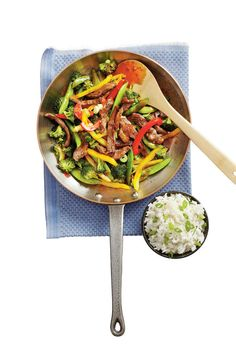 Stir-Fry Recipes: Steak Stir-fry with Rice