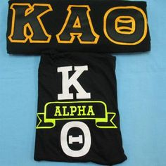 One of our on sale packs, available now. Click through to see how many are available (usually one) and for more information on the items included. It's practically a steal! Kappa Alpha Theta, Custom Greek Apparel, Sorority Outfits, Greek Clothing, Sale Items, Greek Outfits
